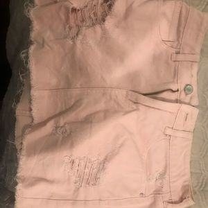 Pacsun pink mini skirt